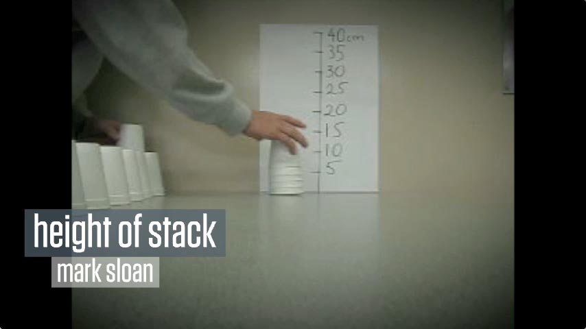 Height of Stack