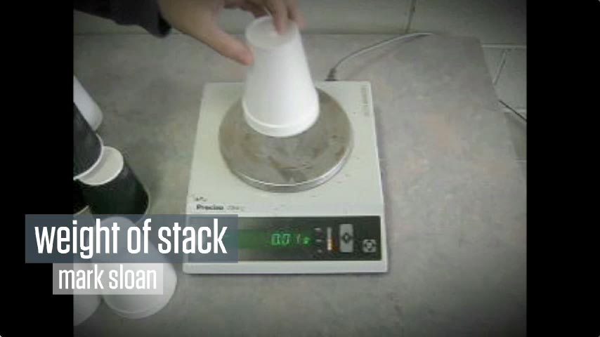 Weight of Stack